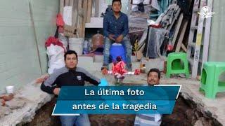 Melitón Velasco celebró con sus hijos el día de la Santa Cruz y para recordar el momento posaron juntos para una fotografía, sin imaginar que sería la última