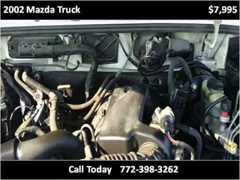 2002 Mazda Truck Used Cars Port St. Lucie FL