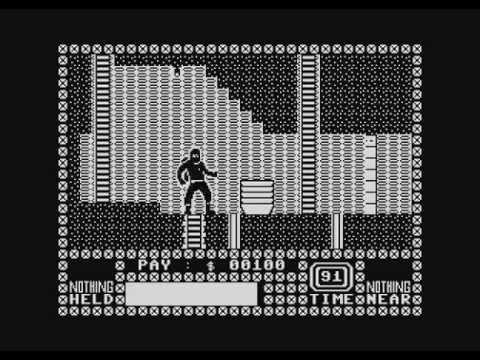 Saboteur! port for Atari 8-bits computers