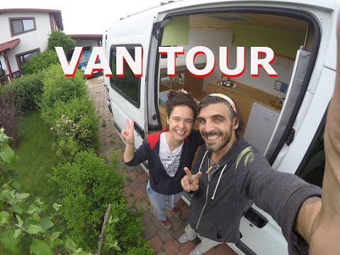 Renault Master Camper 2007 VAN TOUR * 1 Month * No Experience * Renault Master Van Conversion