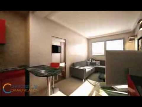 """3D animation """" visite virtuelle d'appartement studio """""""