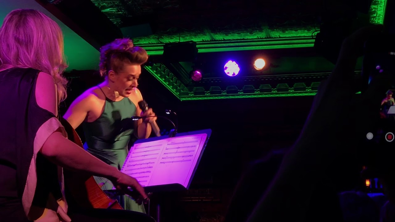 Jessica Vosk - The Wizard and I (54 Below)