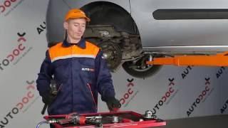 Ako vymeniť ložisko zadného kolesa na FIAT DOBLO 2 (263) [Návod]