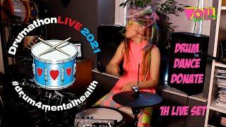 DRUMATHON LIVE 2021 Performance #drum4mentalhealth