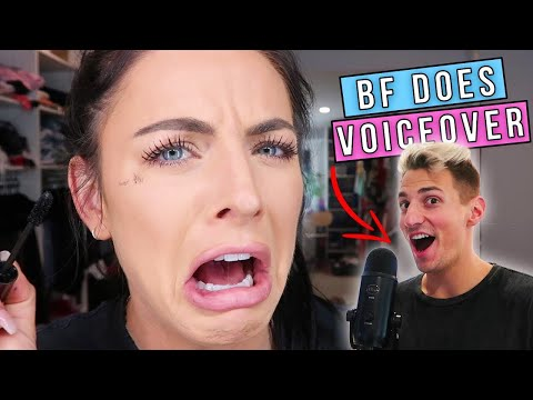 BOYFRIEND DOES MY VOICEOVER! thumbnail