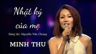 NHẬT KÝ CỦA MẸ | Minh Thu hát live GIAI ĐIỆU KẾT NỐI nhạc sĩ Nguyễn Văn Chung