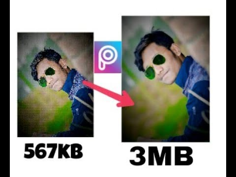 How to get High Quality Output image in PicsArt | PicsArt editing tutorial And Tips