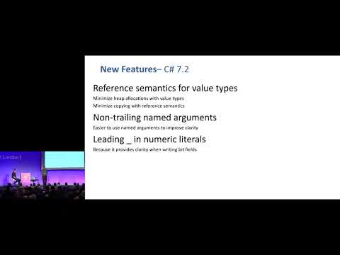 C# 7.1, and 7.2: The releases you didn't know you had - Bill Wagner