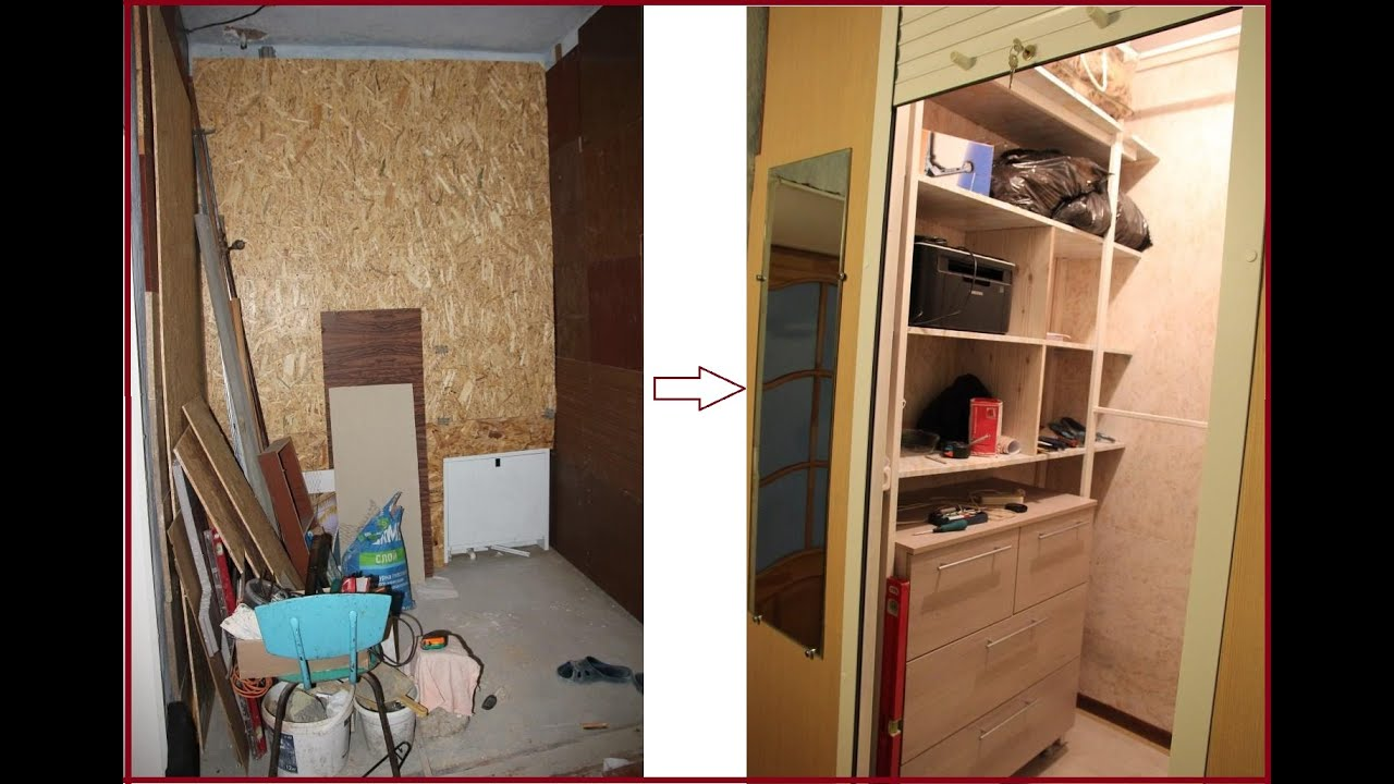 Как сделать встроенный шкаф своими руками фото 297