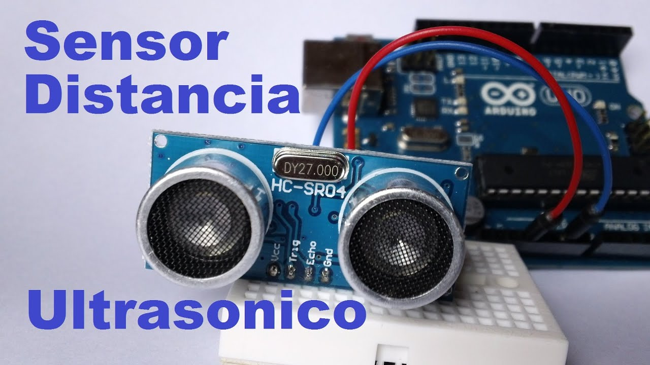 MEDIDOR DE DISTANCIAS POR ULTRASONIDOS SENSOR DE ULTRASONIDOS HC-SR04 ESPAÑA
