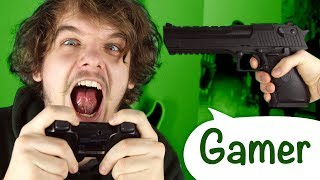 10 Arten von Gamern