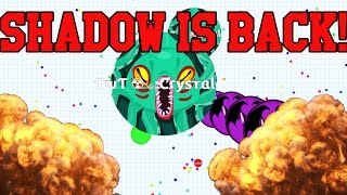 TYT Shadow is BACK! // Insane Agario Splitrunning with Shadow! + Tricksplit