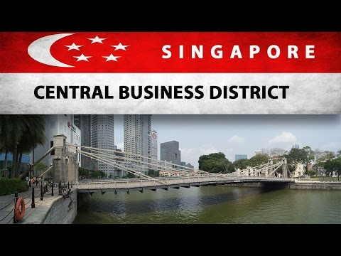 Singapore - Central Business District  and  the Quays