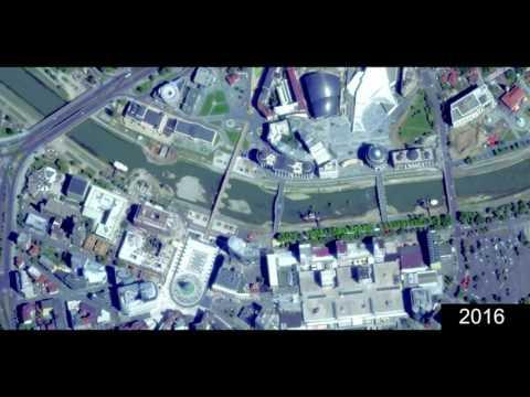 SKOPJE CITY CENTER TIMELAPSE, SKOPJE, MACEDONIA
