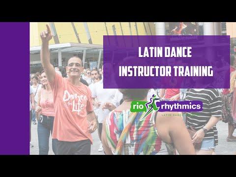 Latin Dance Instructor Training Invite