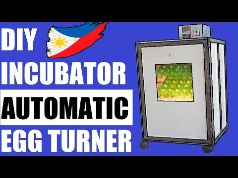 DIY Egg Incubator With Automatic Turner DIY