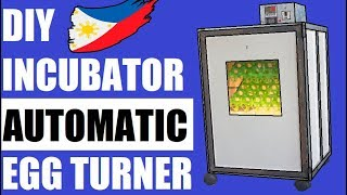 Cover images DIY Egg Incubator With Automatic Turner DIY