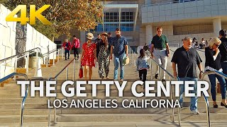 LOS ANGELES - The Getty Center Museum, Los Angeles, California, USA, Travel, 4K UHD