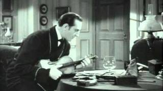 Adventures Of Sherlock Holmes, The (1939) -- (Movie Clip) That Infernal Fiddle.flv