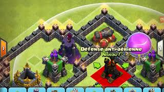 Tuto village te nv 7 très défensif sur clash of clans