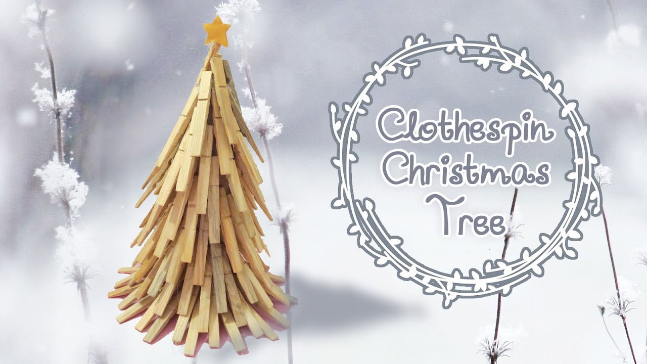 Non Traditional Christmas Tree.Non Traditional Clothespin Christmas Tree Diy Sunny Diy