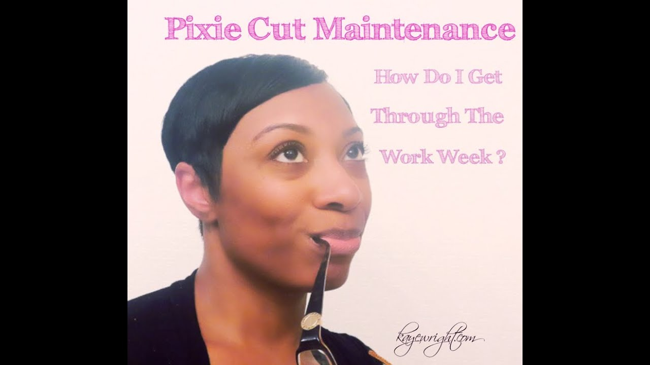 youtube pixie haircut how to maintain your pixie cut through the week 5969 | maxresdefault