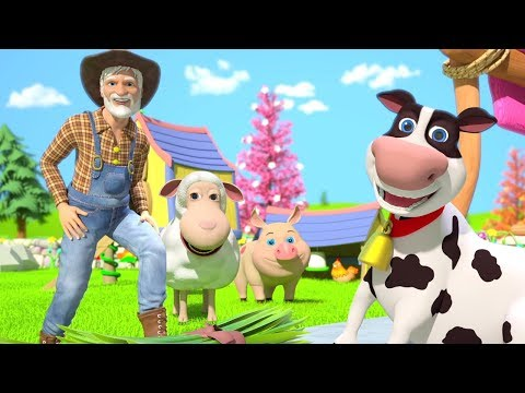 Old MacDonald Had A Farm   Nursery Rhymes & Kids Songs   Kindergarten Cartoons By Little Treehouse