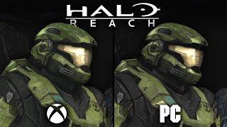 Halo: Reach PC vs Xbox360 | Direct Comparison