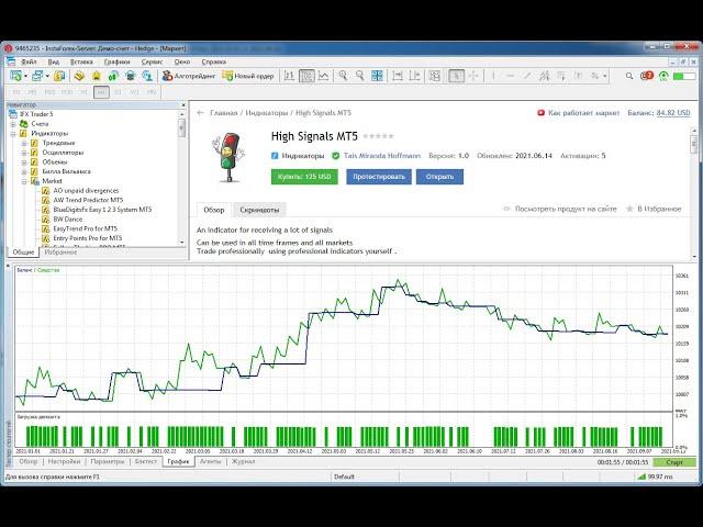 High Signals MT5 и TradeBuilderMT5