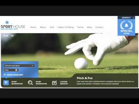Sports Club WordPress Templates & Themes