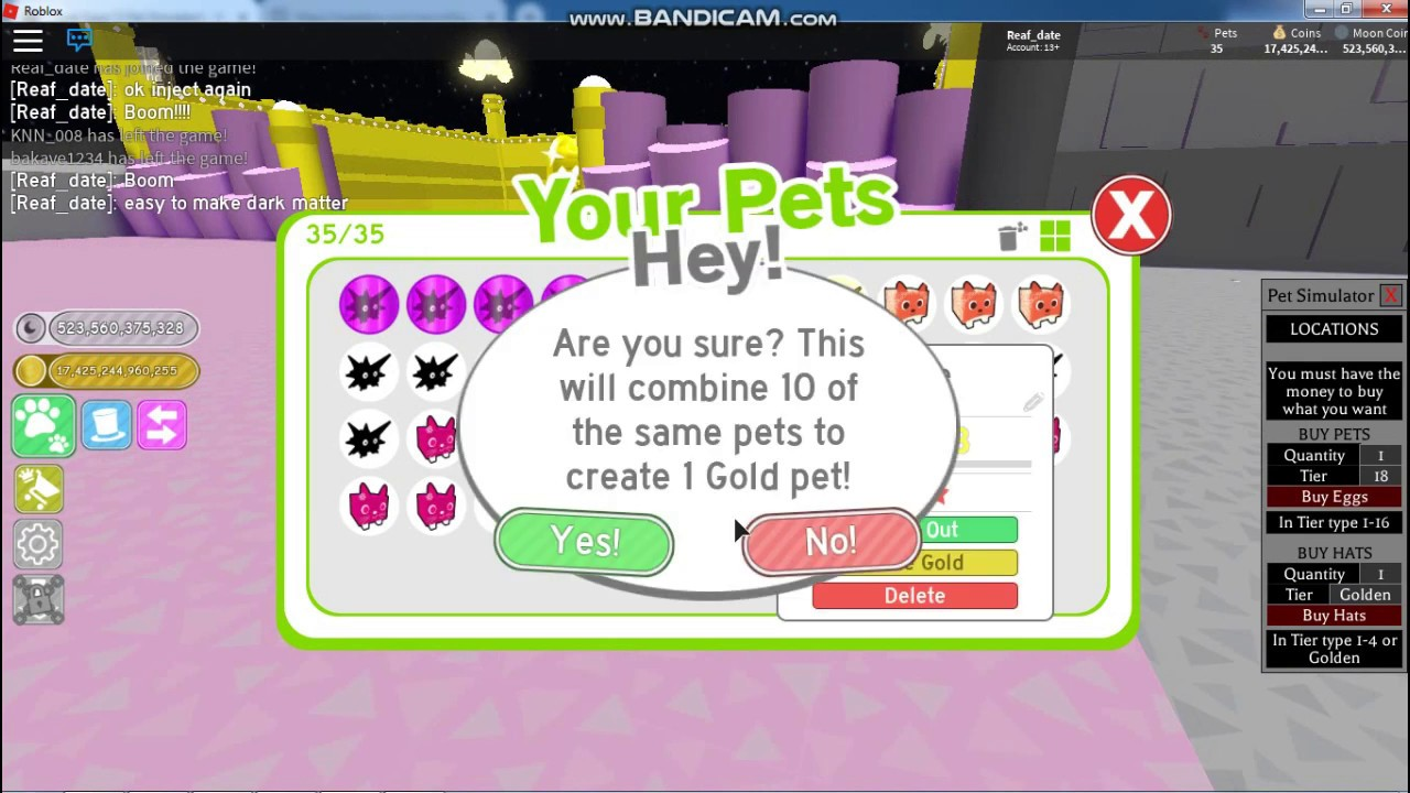 Pet Simulator Hack Unlimited Moon Coins And Cheat Egg Fast To Buy