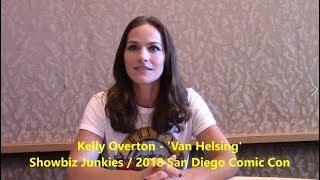 'Van Helsing' Season 3 - Kelly Overton Interview (Comic Con)