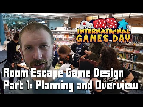Making an Escape Room Game - #1 Planning and Design