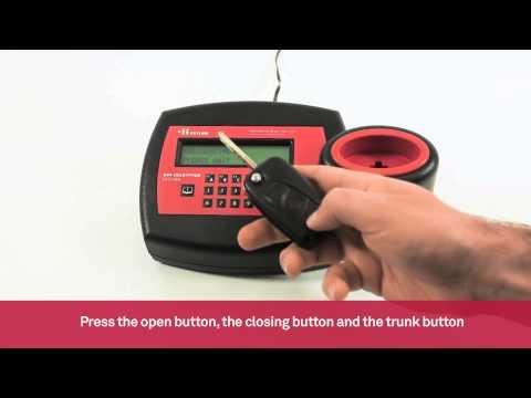 Standard cloning of Philips Crypto standard car key remotes  | Keyline 884 Decryptor Ultegra