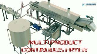 Fully Automatic Food Processing Machine / Namkeen Machine , Potato & Banana Chips Machine