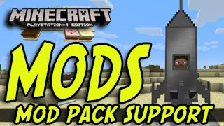 Minecraft (PS3, PS4, Xbox) - MODS! - MOD SUPPORT NEWS