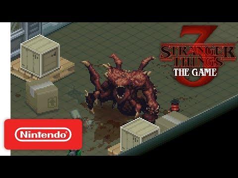Stranger Things 3: The Game - Teaser Trailer - Nintendo Switch