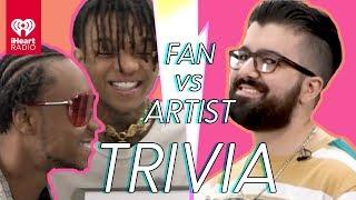 Rae Sremmurd Challenges Super Fan In Trivia Battle | Fan Vs. Artist Trivia