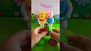 Toys and colors animals, DIY toy and dolls-funny toys video #shorts
