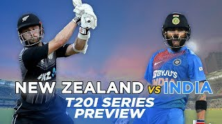 New Zealand v India, T20I Series: Preview