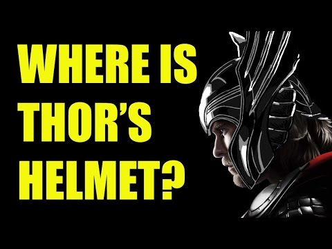 Where's Thor's Helmet in the MCU Movies?!...