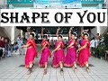 Shape of You | Carnatic Mix | Indian Raga | DANCE COVER | Indian Classical Dance Choreography