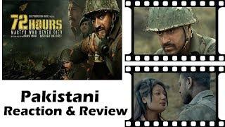 72 HOURS Trailer | Pakistani Reacts | Hindi Movie | Avinash Dhyani | Mukesh Tiwari | Shishir Sharma