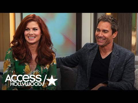 Debra Messing & Eric McCormack Share Their 'Will & Grace' Guest Star Wish List  Access Hollywood