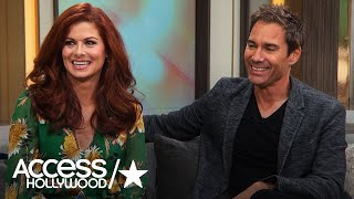 Debra Messing & Eric McCormack Share Their 'Will & Grace' Guest Star Wish List | Access Hollywood