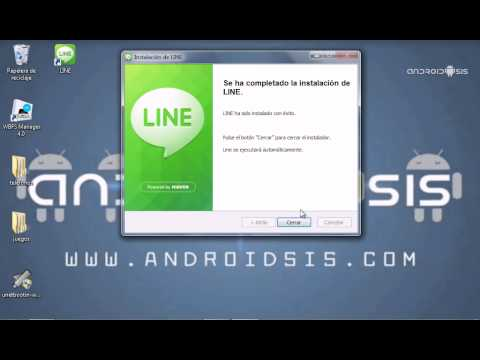 Cómo instalar Line en tu PC