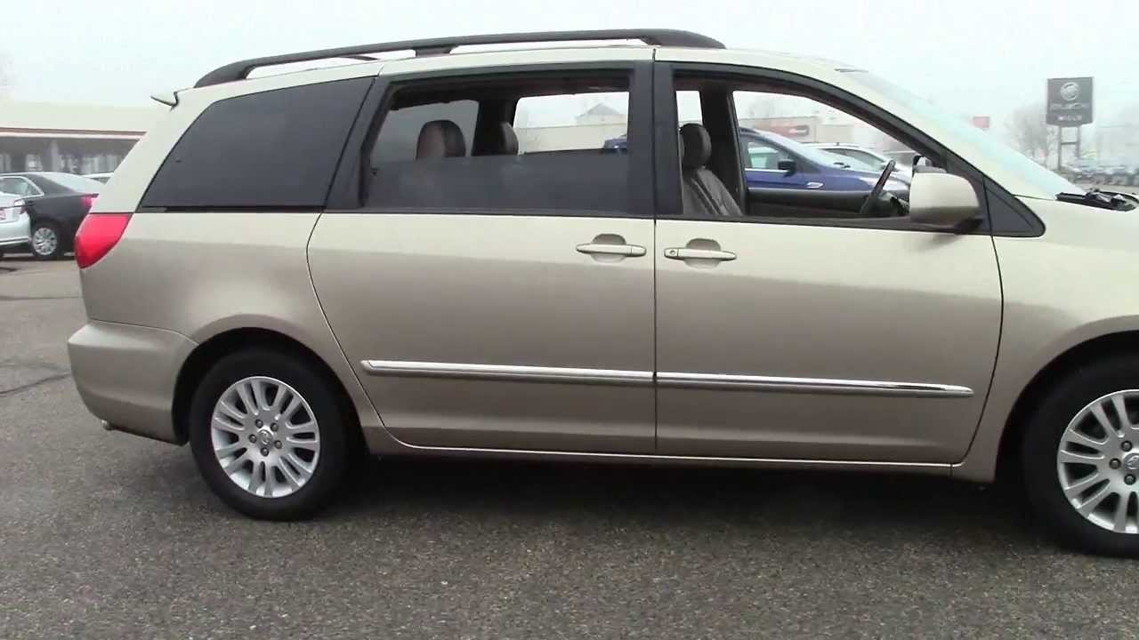 2007 toyota sienna fwd xle limited 4t130283b youtube. Black Bedroom Furniture Sets. Home Design Ideas