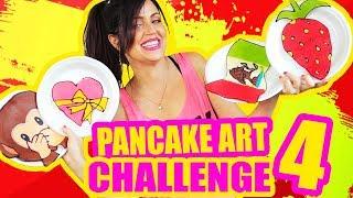 DIBUJANDO CON COMIDA! Emoji, Bandera de Mexico y MAS! Pancake Art Challenge RETO - SandraCiresArt thumbnail