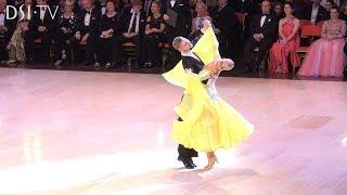 Under 21 Ballroom Champions  Dima Moroz & Kristina Kuzenko Final Waltz British Open 2019 - DSI TV