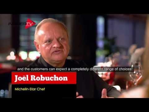 Chef Joël Robuchon with Jamie Yeo | Singapore